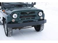 Бампер передний силовой Зубр 100 на УАЗ Хантер