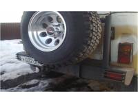 Силовой обвес на УАЗ 469 Таран Задний  с калиткой под запаску