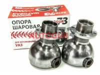 Опора шаровая УАЗ 469, 452 Буханка на мост Тимкен с измененным углом кастора +8 гр (2 шт.) Autogur73