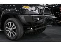 Защита картера двигателя и рулевых тяг УАЗ Patriot, V-все (2015-)/Pickup, V-все (2015-) (Алюминий 4 мм)