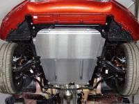 Защита картера Lada XRAY(Алюминиев.4мм)